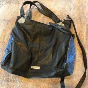 Steve Madden handbag black and blue